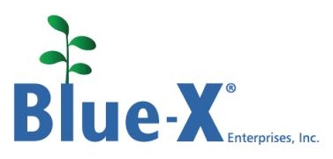 Blue-X Grow Tubes